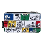 Peanuts Loungefly Nylon Pouch - Peanuts Comic Strip AOP Nylon Pouch