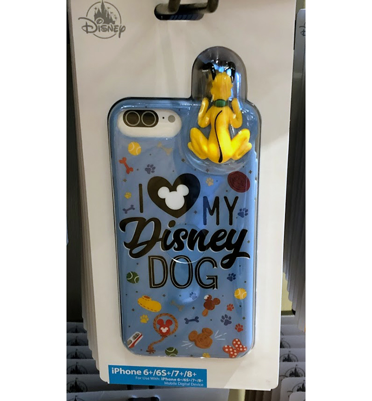 Disney iPhone Case - Reigning Cats and Dogs - I Love My Disney Dog - 6+ / 6S+ / 7+ / 8+