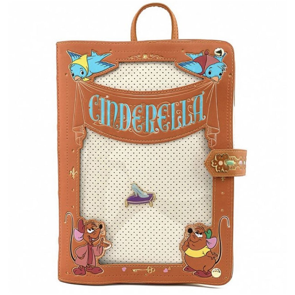 Disney Loungefly Backpack - Cinderella Pin Collector Backpack