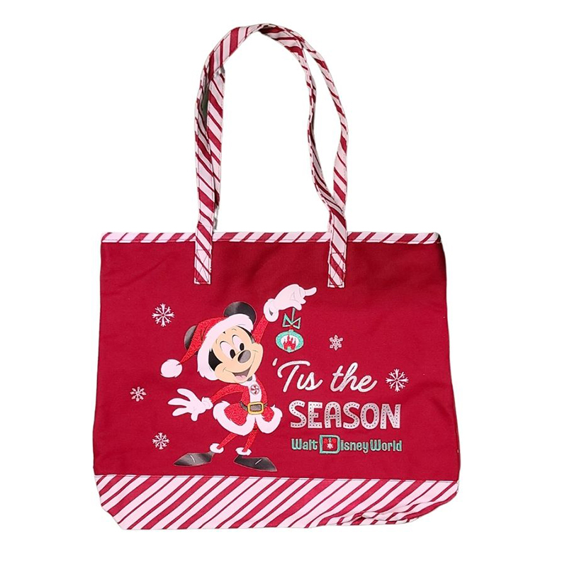 Disney Tote Bag - Holiday 2020 -Mickey & Minnie Mouse - Tis the Season
