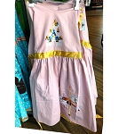 Disney Apron - Cinderella Castle and Carousel Horse