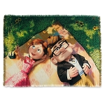 Disney Woven Blanket - Up - Carl and Ellie Picnic