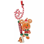 Disney Sketchbook Ornament - 2020 Gingerbread Mickey Key