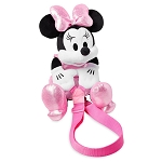 Disney Plush Backpack - Minnie Mouse - Pink Dress