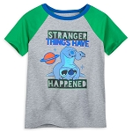 Disney Boys Shirt - Stranger Things Have Happened - Stitch