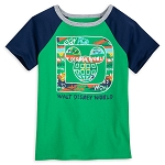 Disney Boys Raglan Shirt - Walt Disney World Classic D Logo