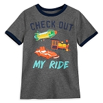 Disney Boys Raglan Shirt - Disney Parks Attractions