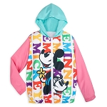 Disney Youth Windbreaker Jacket - Mickey and Minnie Mouse