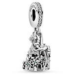 Disney Parks Pandora Dangle Charm - Tinker Bell and Castle