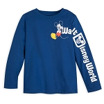 Disney Toddler Shirt - Walt Disney World Logo - Mickey Mouse