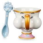 Disney Coffee Cup & Spoon Set - Beauty and the Beast - Chip