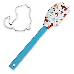 Disney Baking Spatula and Cookie Cutter Set - Reigning Cats and Dogs - Disney Dogs