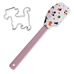 Disney Baking Spatula and Cookie Cutter Set - Reigning Cats and Dogs - Disney Cats