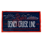 Disney Beach Towel - Steamboat Willie Disney Cruise Line