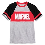 Disney Youth Shirt - Our Universe - Marvel Logo