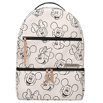 Disney Backpack - Petunia Pickle Bottom - Mickey and Minnie Mouse Sketch Backpack
