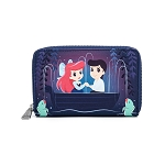 Disney Loungefly Wallet - The Little Mermaid Gondola Scene Zip Around Wallet