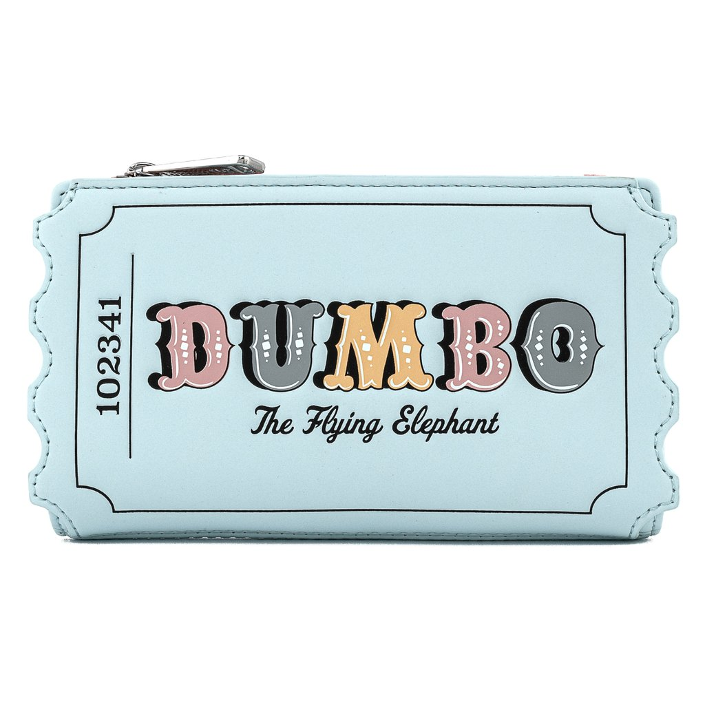 Disney Loungefly Wallet - Dumbo Circus Ticket Flap Wallet