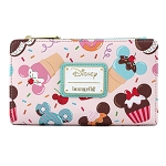 Disney Loungefly Flap Wallet - Mickey and Minnie Mouse Sweet Treats