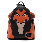 Disney Loungefly Mini Backpack - The Lion King - Scar Cosplay Mini Backpack