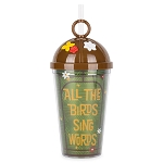 Disney Travel Tumbler w/ Straw - Tiki Room - All The Birds Sing Words