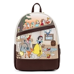 Disney Loungefly Mini Backpack - Snow White and the Seven Dwarfs Multi Scene