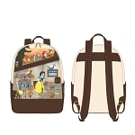 Disney Loungefly Mini Backpack - Snow White and the Seven Dwarfs - Multi Scene