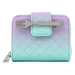 Disney Loungefly Wallet - Little Mermaid Scales Ombre Zip Around Wallet