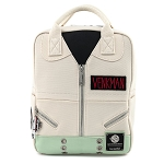 Loungefly Mini Backpack - Ghostbusters Venkman Cosplay Square Canvas Mini Backpack