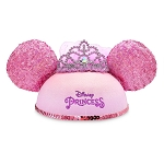 Disney Child Ear Hat - Disney Princess Crown with Veil