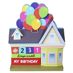 Disney Mini Countdown Calendar - UP Balloon House