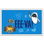 Disney Pin - Wall-E and E.V.E. - EEE-VA!
