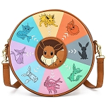 Loungefly Crossbody Bag - Pokemon - Eevee Evolutions Crossbody Bag