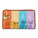 Loungefly Wallet - Pokemon - Eevee Evolutions Flap Wallet