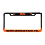 Universal Studios License Plate Frame - Back to the Future
