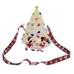 Disney Souvenir Popcorn Bucket - Mickey and Minnie Mouse Christmas Tree