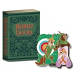 Disney 20th Anniversary of Disney Pins - #14 - Storybook Series - Robin Hood- LE