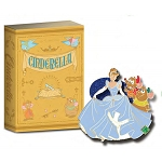 Disney 20th Anniversary of Disney Pins - #15 - Storybook Series - Cinderella - LE