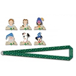 Disney 20th Anniversary of Disney Pins - #31 - Disney Film Storytellers - LE