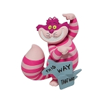 Disney Showcase Collection Figure - Cheshire Cat This Way