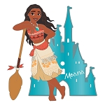 Disney Pin - Moana with Castle