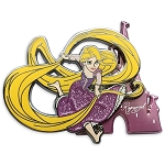 Disney Pin - Tangled - Rapunzel with Castle