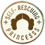Disney Pin by Her Universe - Star Wars - Princess Leia - Self Rescuing Princess