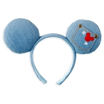 Disney Designer Minnie Ear Headband - Mickey Mouse Denim