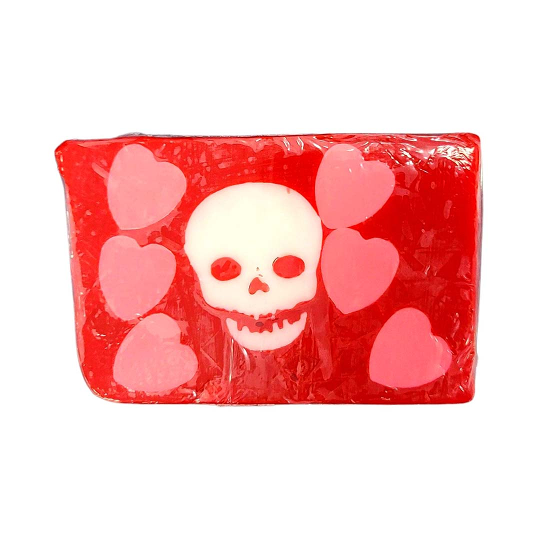 Disney Basin Soap - St. Valentine Skull and Hearts