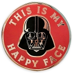 Disney Pin by Her Universe - Star Wars - Darth Vader - This Is My Happy Face