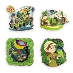 Disney Four Pin Booster Set - Pixar - Up
