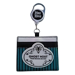 Disney Card Holder by Loungefly - Retractable Haunted Mansion Ghost Host