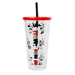 Disney Travel Tumbler w/ Straw - Minnie Mouse
