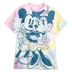 Disney Men's Shirt - Pastel - Walt Disney World - Mickey and Minnie Mouse